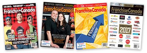 FranchiseCanada Magazine Covers