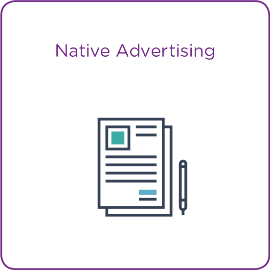 Native Advertising Icon
