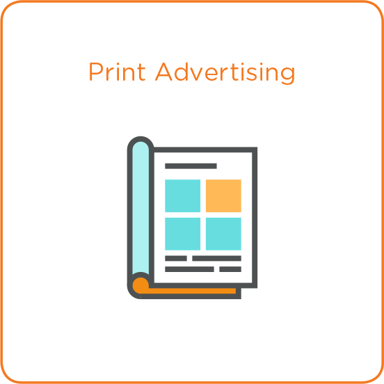Print Advertising Icon