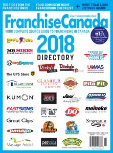 Franchise Canada Directory 2018 Cover