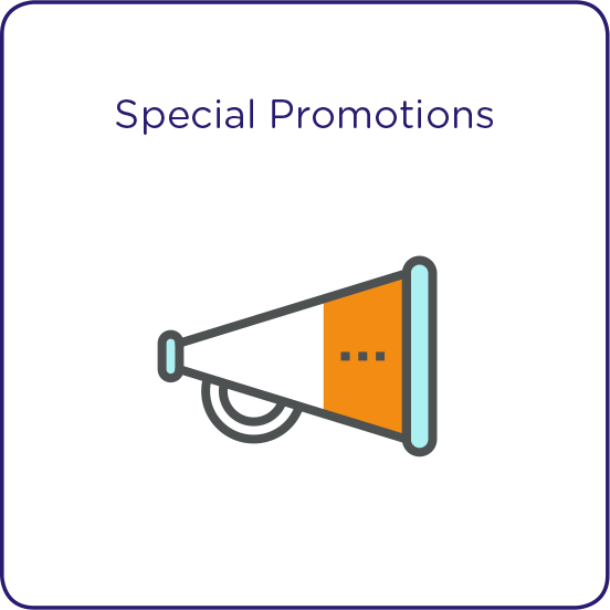 Franchise Canada Special Promotions Icon
