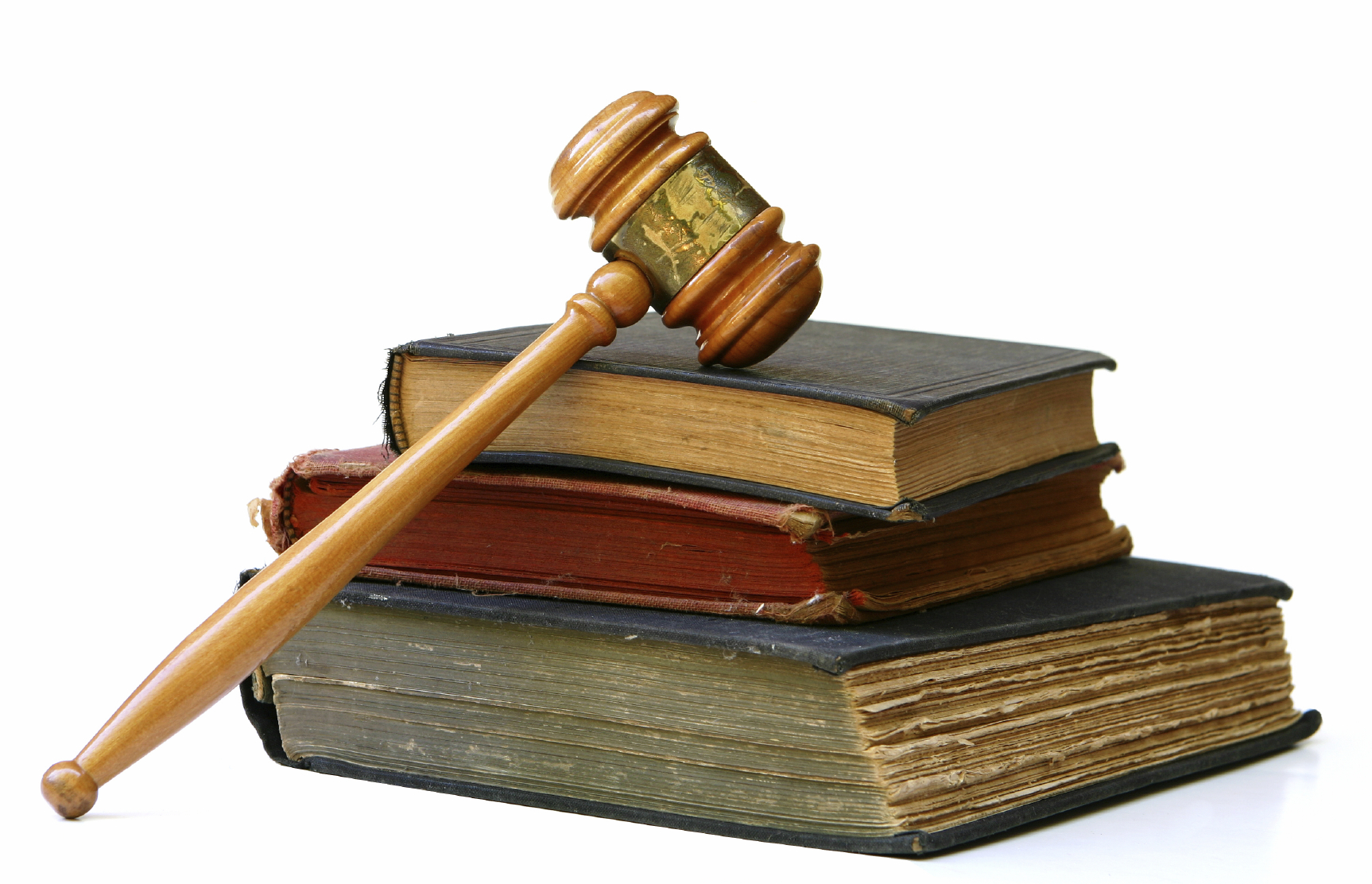 Photo of books and gavel