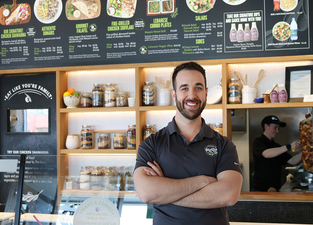 Photo of Peter Nahas from Mezza Lebanese Kitchen