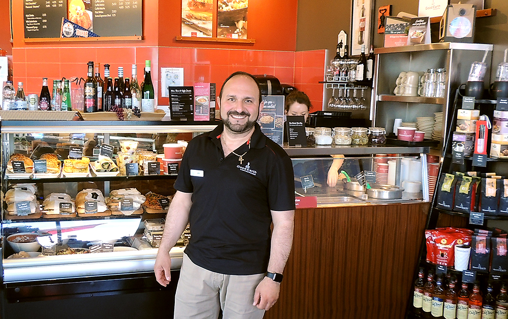 Photo of Good Earth Coffeehouse franchisee Joe Angotti