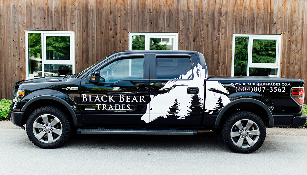 Photo of Black Bear Trades truck