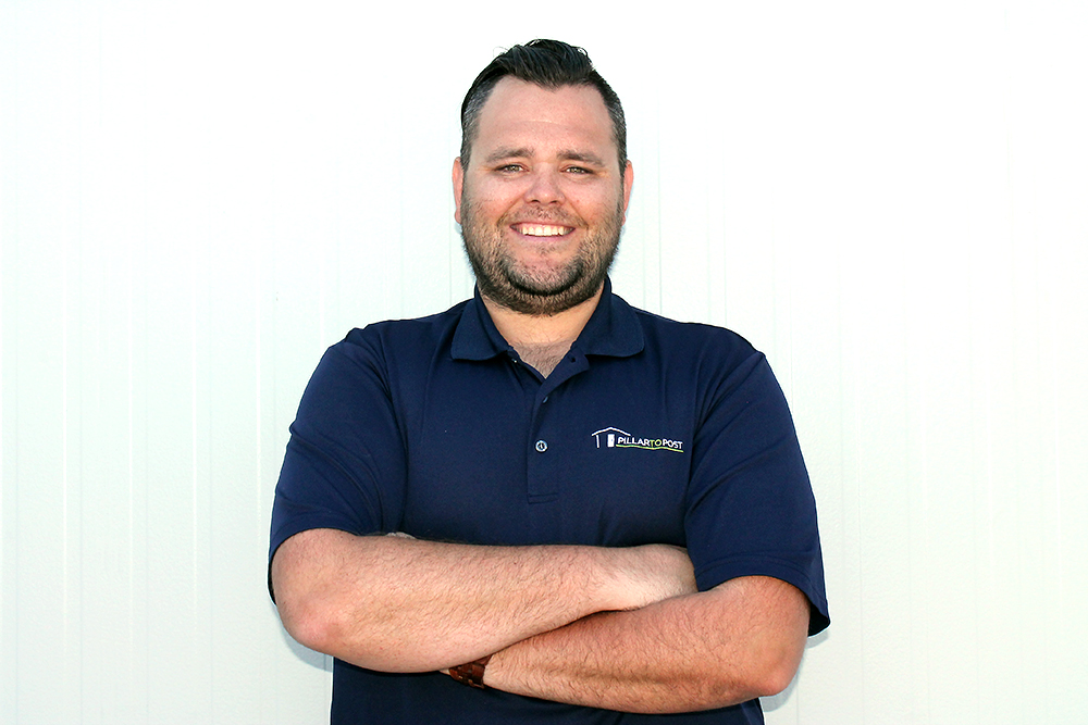 Photo of millennial Pillar to Post franchisee Tyler Burley
