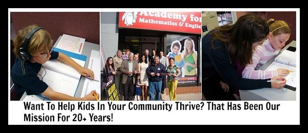 Academy for Mathematics & English large banner