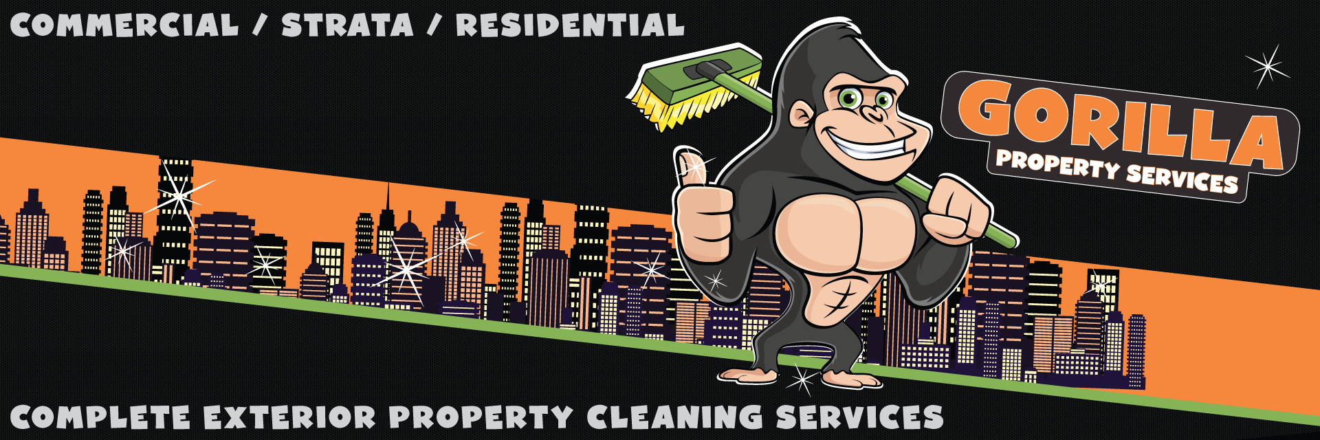 Gorilla Property Services large banner