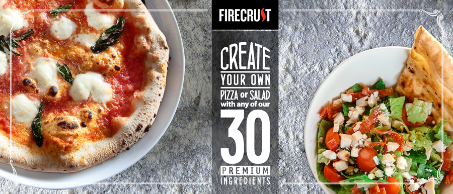 Firecrust Pizza large banner