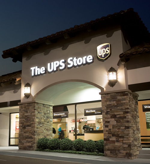 TheUPSStore. large banner