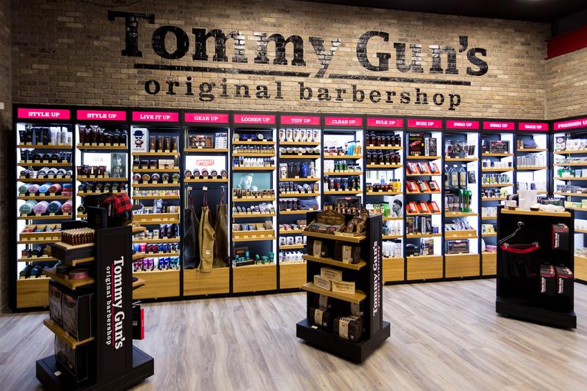 Tommy Gun's Original Barbershop large banner