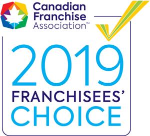 CFA 2019 Frranchisees' Choice logo