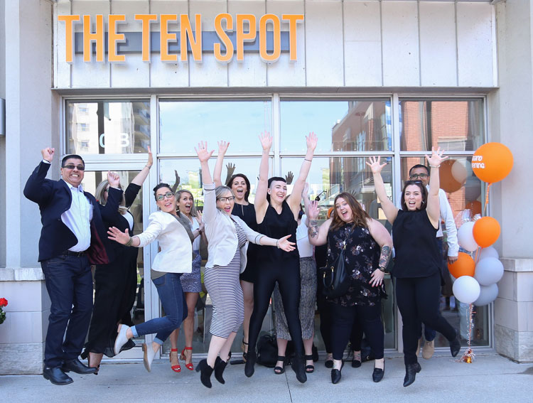 The Ten Spot group image 5