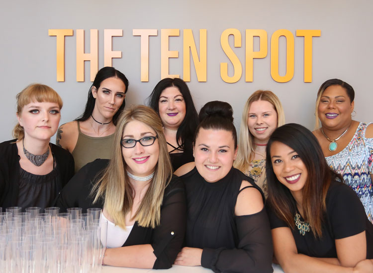The Ten Spot group image 7