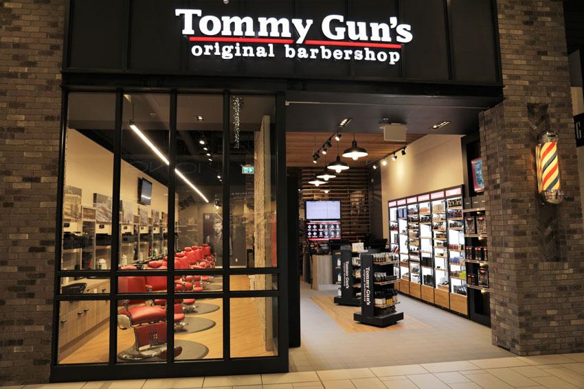 Tommy Gun's shop front photo