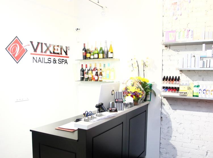 Vixen Nails & Spa inside image