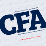 Canadian Franchise Association Accomplishments Report 2016