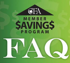 Members Savings FAQ