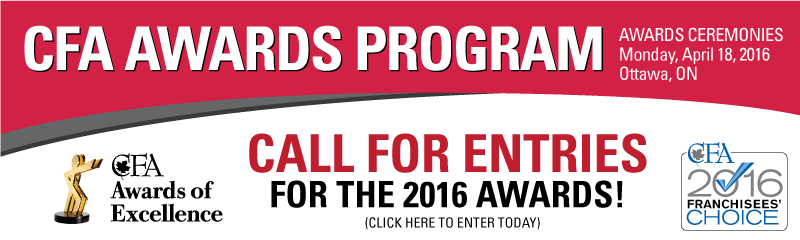 CFA Awards of Excellence Call for Entries