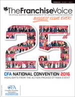 FranchiseVoice 2016 - Spring Issue Cover