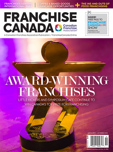 Franchise Canada Sept/Oct 2018 Cover Image