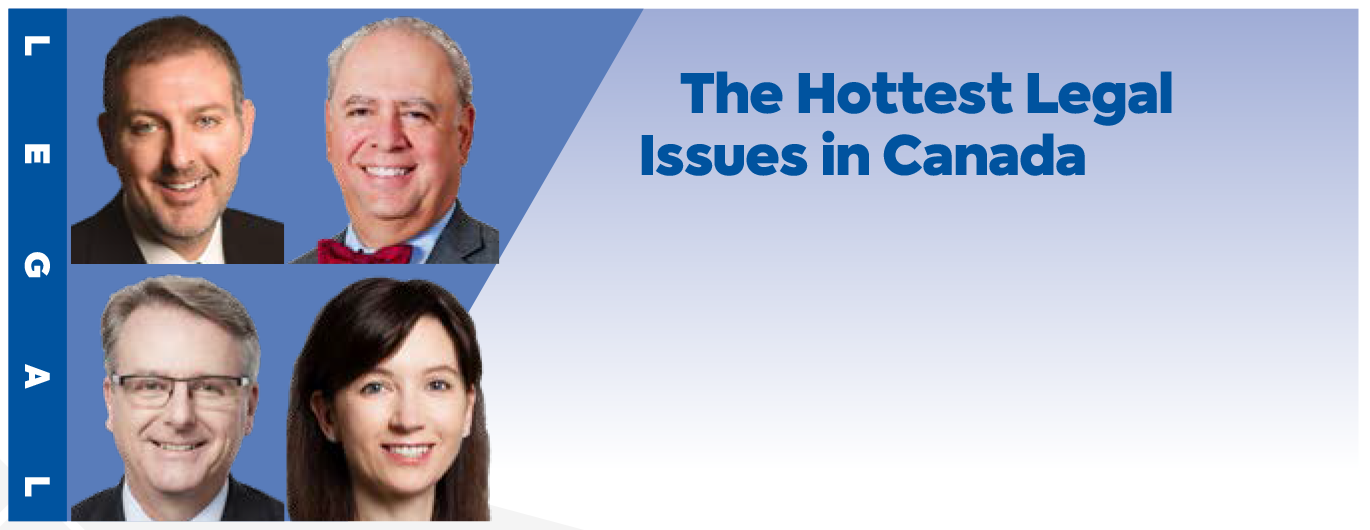 The Hottest Legal Issues in Canada header image