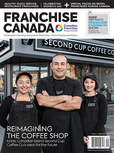 Franchise Canada Magazine May/June 2019 cover