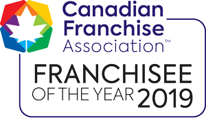 Franchisee of the Year 2019 logo