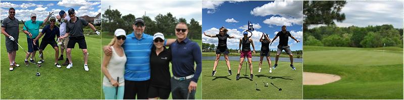 CFA Golf 2019 - photo collage