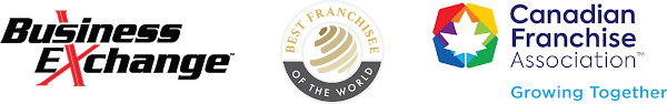 Best franchisee of the world Canada logos